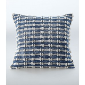 Sintra Cushion Navy by MM Linen