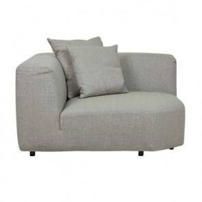 Felix Curve Corner Sofa Luna Grey