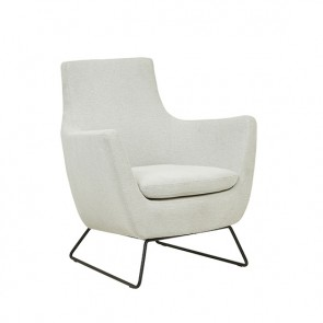 Juno Dakota Sofa Chair Frost Grey