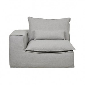 Orlando Slouch 1 Seater Left - Aggregate
