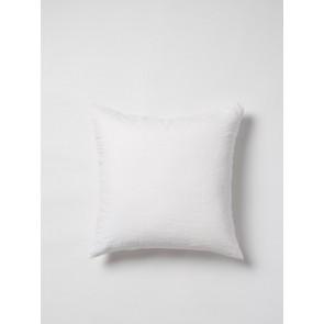 100% Linen Euro Case White - Set of 2