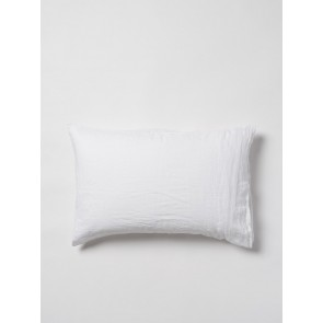 100% Linen Pillowcase Pair - White