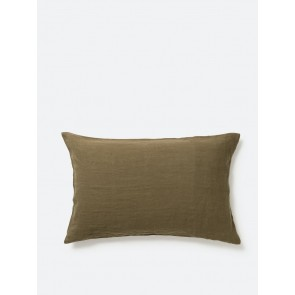 100% Linen Pillowcase Ivy Pair