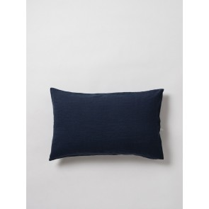 100% Linen Pillowcase Pair - Navy