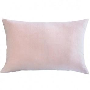 Mulberi Sovereign Velvet/Linen Cushion - Rose Quartz