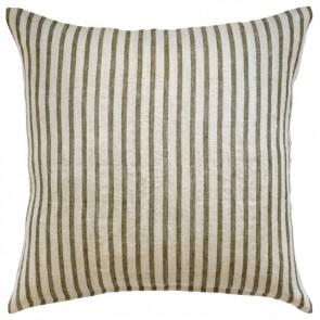Mulberi 100% Linen Spencer Khaki-Natural Cushion