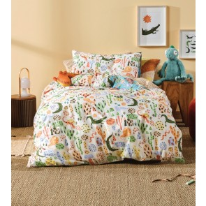 Tales & Scales Kids Duvet Cover Set by Squiggles