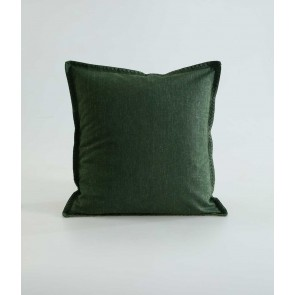 Stitch Cushion by MM Linen Cypress Green