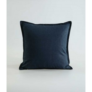 Stitch Cushion by MM Linen Navy