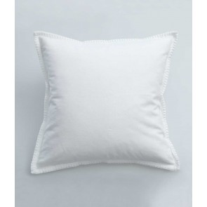 Stitch Cushion by MM Linen White