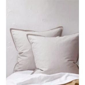 Stitch Pumice Euro Pillowcase Pair