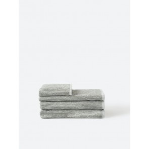 Stripe Organic Cotton Towel Collection - Olive Stripe