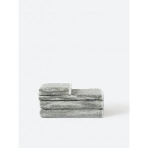 Stripe Organic Cotton Towel Collection - Olive Stripe
