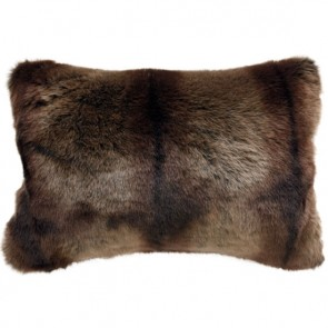 Heirloom Striped Beaver Long Cushion