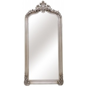 Antiqued Ornate Bevelled Mirror