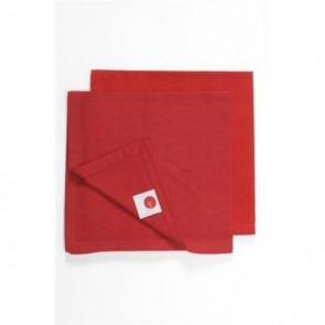 Ajoure Chilli Red Napkin - Set of 10