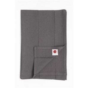 Ajoure Charcoal Table Runner - Set of 6