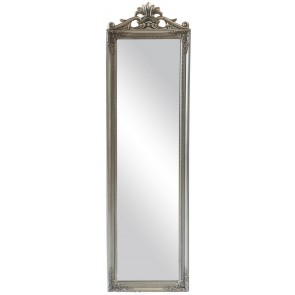 Antiqued Ornate Panel Mirror