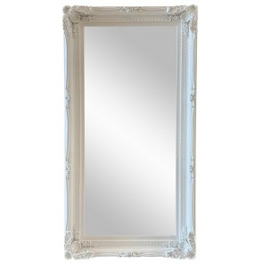Ornate Mirror White 100x200cm