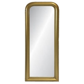 Curved Top Mirror Large - Gold