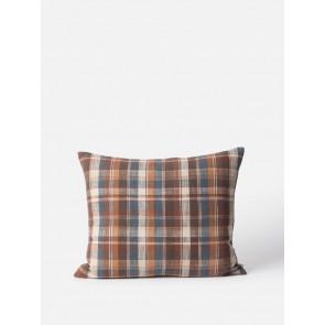 Tasman Woven Cushion Cover Raisin - 2 Pack