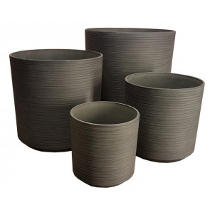 Stone Lite Etched Pot Set - Light Grey