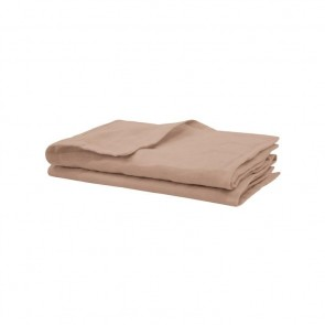 Tea Rose French Linen Napkins by Bambury - 4 Pack