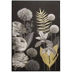 Gilded Flora Gold Leaf Print