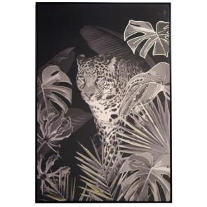 Gilded Fauna Gold Leaf Leopard Print