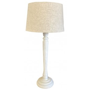 Table Lamp & Natural Shade