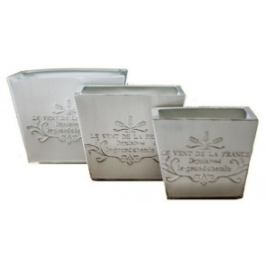 Metal Planters Set of 3