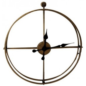 Metal Framed Wall Clock - Medium