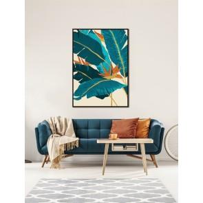 Tropical Spring Framed Canvas Art