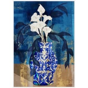 Royal Vase I Canvas Art