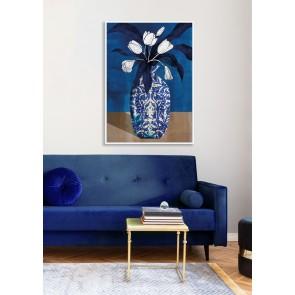 Royal Vase II Canvas Art