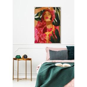Framed Canvas Art Isabella