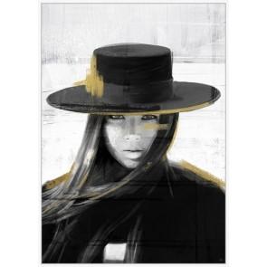 Framed Canvas Art Angelina