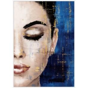 Meditation Framed Canvas Art