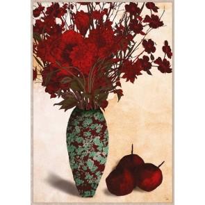 Autumn Floral Framed Canvas Art
