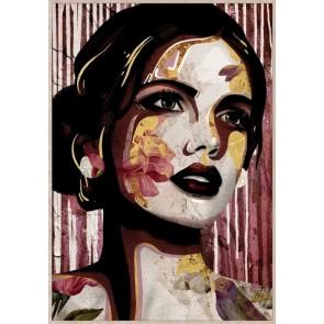 Senorita Framed Canvas Art