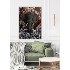 Tusk Framed Canvas Art