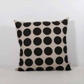 Thread Design Black Spot Cushion