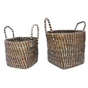Set of 2 Mendong Baskets