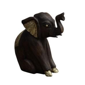 Wooden Elephant II