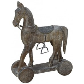 Rolling Wooden Horse