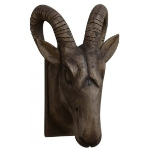 Rams Head Wall Sconce