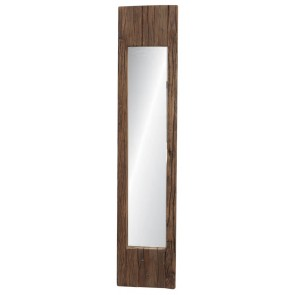 Wood Panel Mirror I