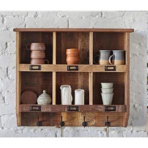 Wooden Wall Organiser