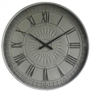 Bohemian Sunburst Wall Clock