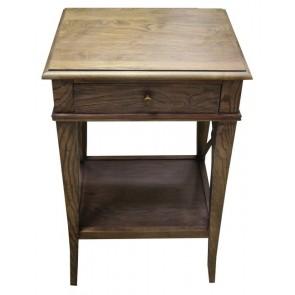 Villa Bedside Table Washed Ash